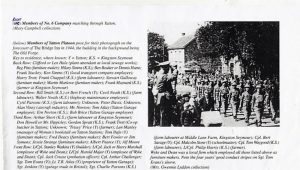 Photograph of Yatton Home Guard marching