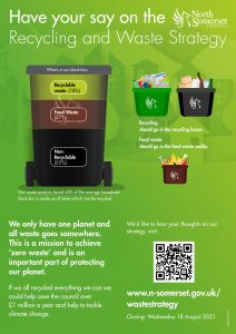 Poster regarding recycling strategy June 21